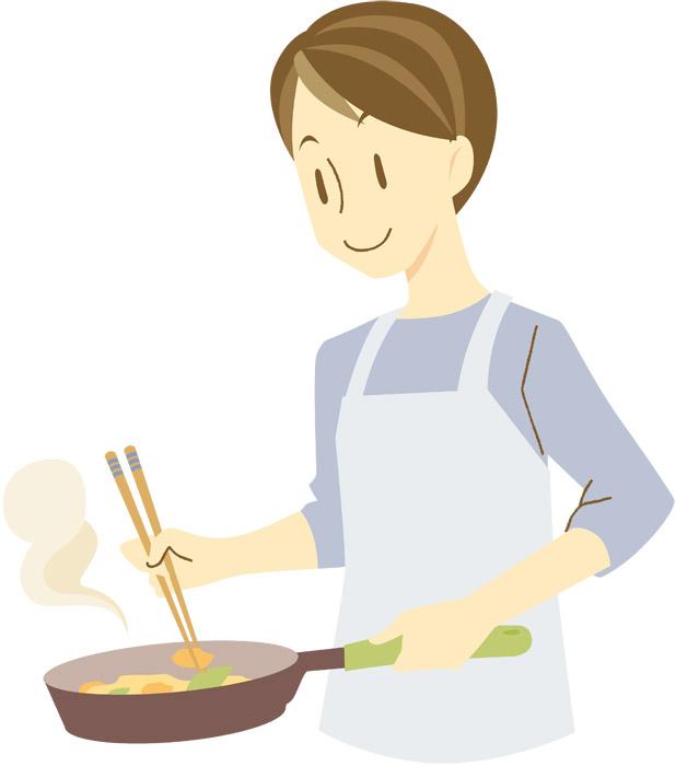 友達の奥さんの料理よりも、俺の料理のほうが美味い