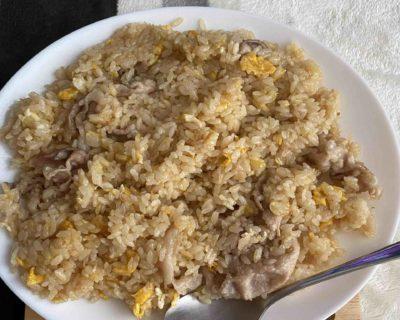 牛角の焼肉たれで作る激ウマ炒飯wwwwwwww