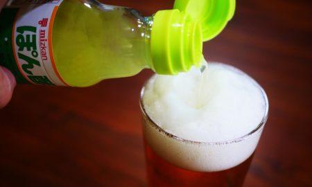 【激的グルメ】信じられないかもしれないがビールに「ぽん酢」を入れると激しくウマい件