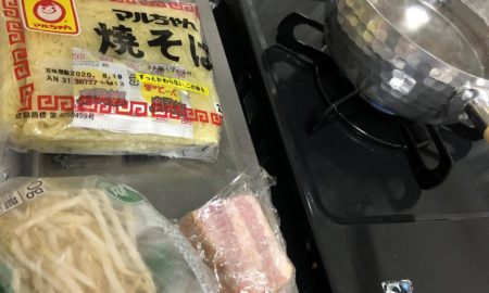 焼きそばの麺で冷やし中華作る