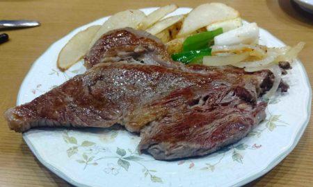 【晩御飯】ステーキ焼いたよー\(^o^)/