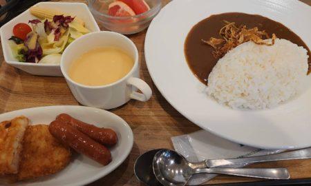 【優雅】ビジホ出張ワイちゃん優雅に朝食を食べる