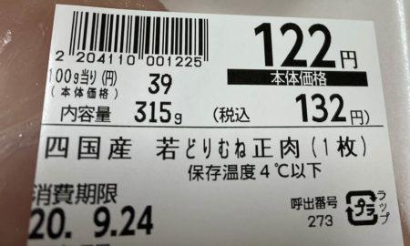 【悲報】筋トレ民大好き、鶏肉さんの値段wwwwwwwwwwwwwwwwwwwwwwwwwww