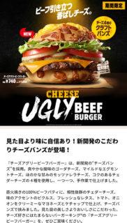 【朗報】バーガーキングさん「見た目は捨てました」チーズ全力味のみで勝負する!!!!