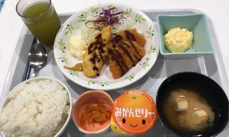 【画像】うちの社食、これで300円最高すぎwwwwwwwwwwwwwwwwwwwwwwwwwwwww