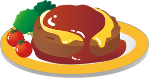 【画像】東京「ハンバーグ定食お待たせしました」(1700円)wwwwwwwwwwwwww
